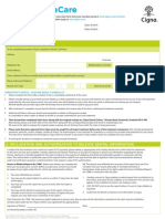 Dentacare Claim Form