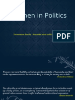 Women in Politics By Sam and Kim