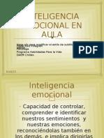 Taller Inteligencia Emocional en Aula