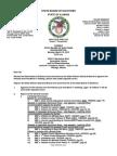 Illinois State Board of Elections Agenda