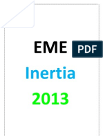 EME inertia , Registeration details