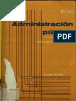 Administracion Publica La Funcion Administrativa
