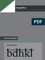 Anatomia Tipogrfica