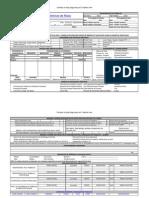 (modelo de APR - Análise Preliminar de Risco