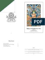 Refuge and Bodhisattva Vows Booklet