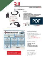 VAG 4.9 USB + Adapter