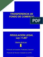 Transferencia de Fondo de Comercio