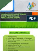 Peran Data dalam Pembangunan