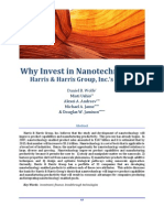 Why Invest in Nanotechnology? (Source:Harris & Harris Group, Inc.,)