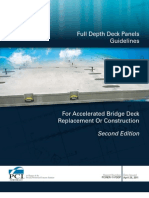 Pcine Full Depth Deck Panel Report