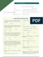 Algebra Pre Division (Propuestos)