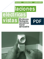 Instalaciones eléctricas vistas
