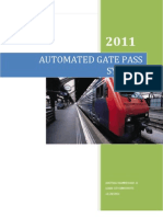 Automated Gate Pass System for Leads City University