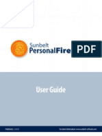 Sunbelt Personal Firewall 4 User Guide(2008)