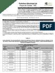 Concurso Público 001-2011 - Técnico em Informática