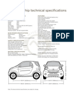 Whip Technical Specifications BASE MODEL PARAMETERS Model Name