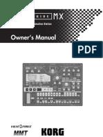 Korg EMX-1 Manual