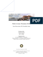 Ninth Avenue Terminal Solar Feasibility Report