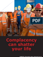 Complacency Can Shatter
