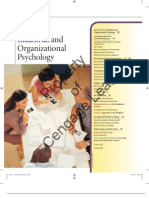 Industrial Organization Psychology