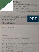 Freud, S. 05 - (1900) - V - LA INTERPRETACION DE LOS SUEÑOS (SEGUNDA PARTE)
