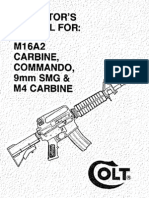 Colt M16A2 Carbine, Commando, 9mm Smg & M4 Carbine