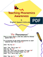 Teaching Phonemics Awareness