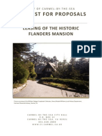 Rfp Leasing of the Historic Flanders Mansion 2013