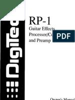 Rp1 Manual