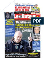 LE BUTEUR PDF du 08/03/2009