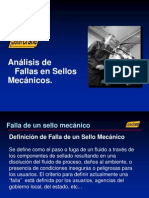 Fallas de Sellos Mecanicos