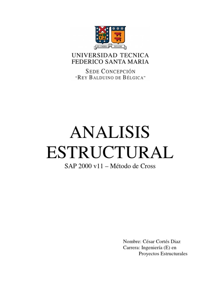 analisis estructural On ingenieria estructural pdf