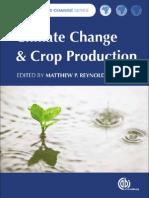 Climate Change & Crop production