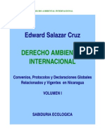 Edward Salazar Cruz. Derecho Ambiental Internacional Volumen I