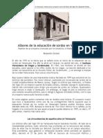 Oviedo Proyecto Escuela de Sordos Venezuela SigloXIX (1)
