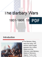 The Barbary Wars Presentation