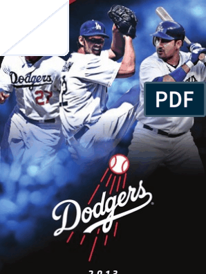 2013 LAD Media Guide | Major League Baseball | Sports