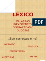 1. LÉXICO