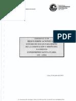 Estudio de Suelos Con Fines de Pavimentacion y Cimentacion