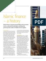 Islamic Finance - a History