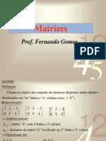 Matrizes - Parte I