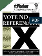 Socialist Worker (newspaper of the International Socialist Organisation Zimbabwe), March 2013