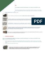 Kinds of Rocks