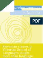 10.10. Slovenian Language in Australia
