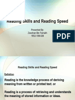Reading Skills and Speed