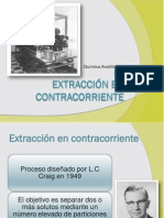 Extraccion en Contracorriente