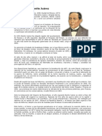 Biografía  de Benito Juárez.docx, maximiliano y porfirio diaz