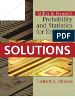 Probability and Statistics for Engineers - Solutions