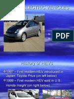 HYBRID ELECTRIC VEHICLES (Rahul Raj)