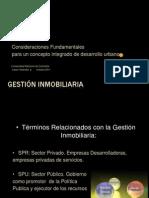 Gestion y Desarrollo Inmobiliario UN OCT 2011